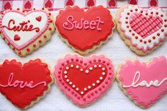 Valentine Cookies! by Munchkin Munchies.