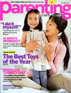 writing articles for parenting magazines