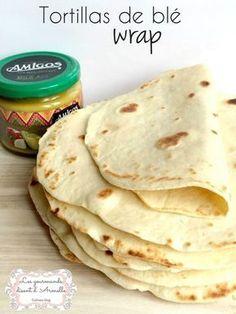 Une recette simple et très économique. Alors réalisez vous-même les tortillas, les fajitas....les wrap ! Je vous proposerai prochainement une recette de wrap au saumon et tortillas au poulet et pourquoi Bourritos. Des idées originales pour manger entre...
