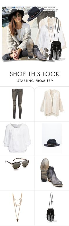 """Weekend Boho - Blogger Style"" by hattie4palmerstone ❤ liked on Polyvore featuring R13, Humanoid, Etnia Barcelona, Bed