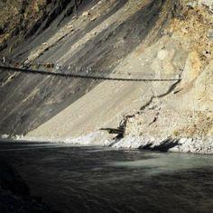 #Nepal bridge