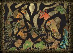 Celtic Fox art