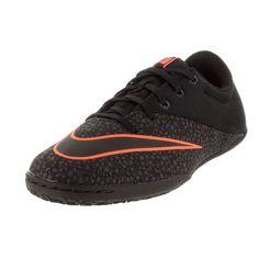 Nike Kid's Jr Mercurialx Pro Ic //Anthrct/Brightt Magenta Indoor Soccer Shoe