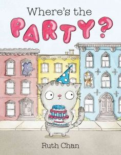 Georgie the cat loves to throw parties but this time, not one of his friends can come.