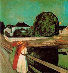 Edvard Munch - En el puente