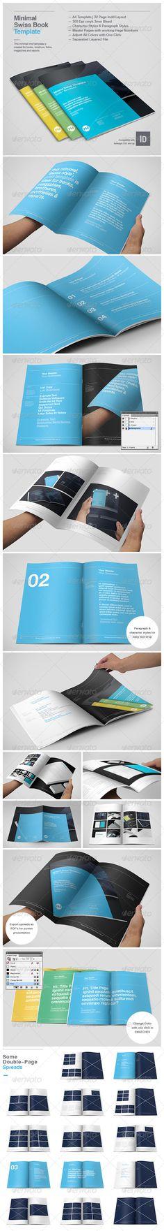 Minimal Swiss Print Template - GraphicRiver Item for Sale