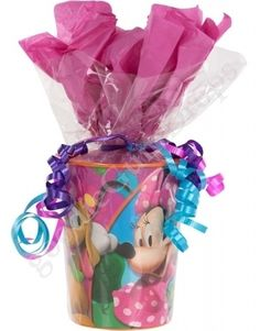 Cute Goodie Bag Idea For Any Type Of Party Minnie Mouse Mickey