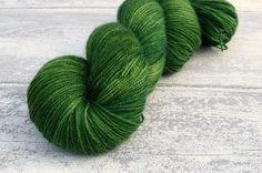 BFL Sock in Moss (Dyelot 010415)