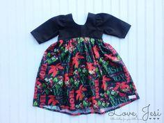 Baby Girl Christmas Dress Little Girls Dress Dress for by LoveJesi ...
