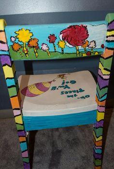 Dr. Seuss Childrenu0027s Chair