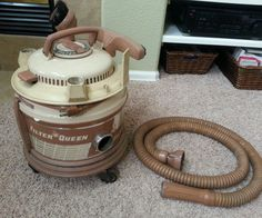 Vintage FilterQueen Canister Vacuum