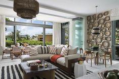 Designer Bedding Sets On Sale Oriental Hotel, Natural Bedding, Luxury Bedding Sets, Indoor Outdoor Living, Coastal Living, Plates On Wall, Luxury Homes, Outdoor Furniture Sets, Interior