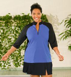 91322e2dee6 Fashion for women Plus Size swim shirt  swim  plussize  swimsuit  black