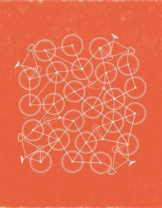 #bikes #print