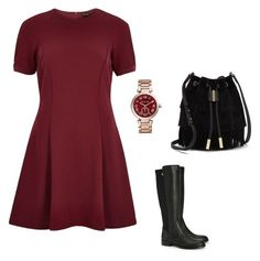 """chic"" by katerinaparask on Polyvore featuring River Island, Tory Burch, Vince Camuto and Michael Kors"