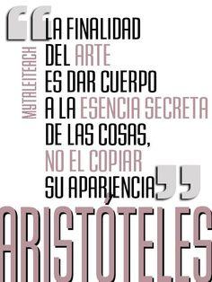 Frases y citas sobre arte de #mytaleiteach http://chemasenra.blogspot.com/ Síguenos en Facebook https://www.facebook.com/ChemaSenraArtStudio