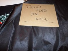 Found on Will Friedle's table at DragonCon. There's a story here...