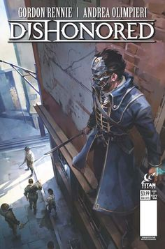 Official Dishonored Comic Series // Issue 3 Cover B by Julia Frost