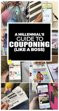 Listen up millennial's! You can coupon (and save money) like a boss if you use this fool-proof guide. Gen Y — nah, call me Gen Frugal. Check out the millennial's guide to couponing. How To Start Couponing, Couponing For Beginners, Couponing 101, Extreme Couponing, Ways To Save Money, Money Saving Tips, Managing Money, Get Free Stuff, Grocery Coupons