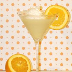 Orange Creamsicle Martini