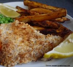diet fish and chips on friday and best of british. Low Calorie Recipes, Calorie Diet, Diet Recipes, Cooking Recipes, Healthy Recipes, Healthy Tips, Healthy Foods, Yummy Recipes, Oven Baked Cod