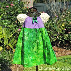 Little Mermaid Princess Dress