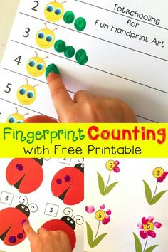 Fingerpaint Counting