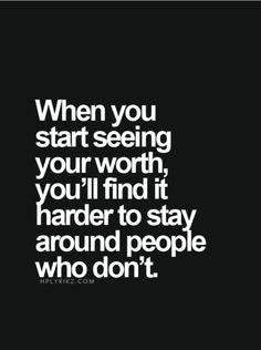 Start Seeing Your Worth!