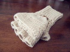フード付き手袋 無料編み図 模様編み かぎ編み - 北欧風無料編み図 アケメロン伝説~きみだけに~ Crochet Hand Warmers, Blog Entry, Tatting, Needlework, Womens Fashion, Sweaters, Patterns, Gloves, Loom