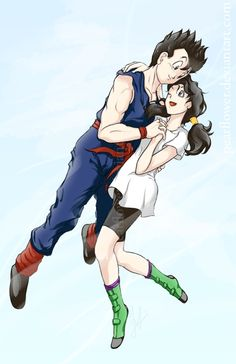 Gohan and Videl (honestly, I don't really care for either, but oh well)
