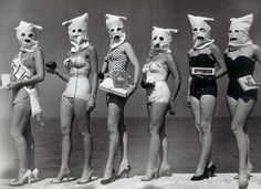 The contestants at a beauty pageant that didn't want to judge them on their looks.
