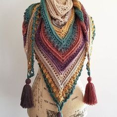 Secret Paths Pattern By Johanna Lindahl Secret Paths pattern by Johanna Lindahl Woman Knitwear and Sweaters 3 square woman free knit sweater pattern Crochet Shawl Free, Crochet Shawls And Wraps, Crochet Scarves, Crochet Hats, Crochet Granny, Ravelry Crochet, Knitted Shawls, Knit Poncho, Crochet Edgings