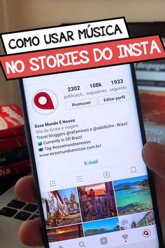 Como usar música de fundo no Stories do Instagram? Veja como é fácil nesse passo a passo!