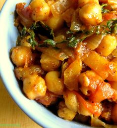 Sauteed Chick pea a.k.a Boil and Fry Channa