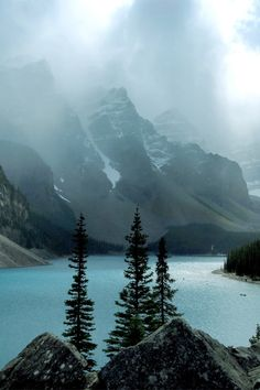 italian-luxury: Clouds over the Lake by Chad Kruger Moraine Lake,Banff, Canada Banff National Park, National Parks, Beautiful World, Beautiful Places, Moraine Lake, Seen, Italy Vacation, Landscape Photos, Landscape Photography