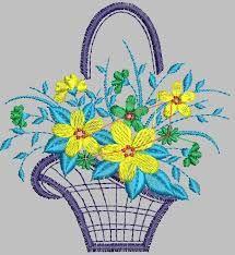 Resultado de imagem para matrizes de bordados  grandes com flores gratis para…