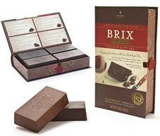 Brix Chocolates perfect with wine