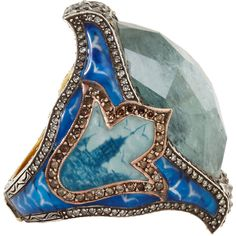 Sevan Bicakci Diamond & Aquamarine Dove