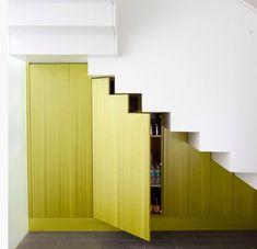 Optimisez l'espace sous les escaliers - Déco Idées