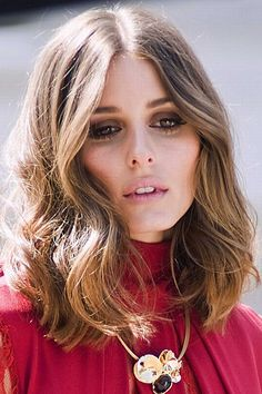 Olivia Palermo always has perfect waves, get her look by gently brushing out curls after curling.