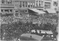 Five thousand women marched up Pennsylvania Avenue in Washington, DC, on March 3, 1913, demanding the right to vote.