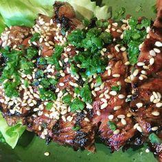 Short Rib Japanese Style. Boneless beef short rib garlic-chili-soy marinade. #Appetizer #Dinner #HappyHour #SundayFunDay #Delicious #ShortRib #Beef #JapaneseFood #Garlic #Chili #SoySauce #marinade #SesameSeeds #Lettuce #Tasty #Ganso #GansoBrooklyn #BrooklynEats #NYCRestaurants #ParkSlopeEats #NYCEats #NYCJapaneseFood #FoodPhotos #NYCPhotographer #NYCFoodPhotographer #AmyLerStudiosNYC by amyleestudios