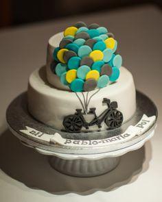 TANDEM'S WEDDING CAKE www.facebook.com/aprilscake