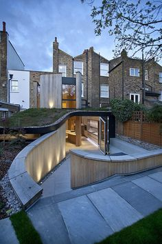 Underground Bar extension #artchitecture #residence #house #btl #buytolet pinned by www.btl-direct.com the free buytolet mortgage search engine for UK BTL deals instant quotes online