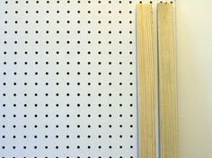 How To: Make a Pegboard Wall Organizer