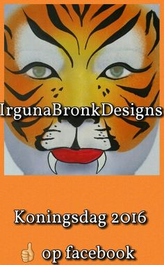 Koningsdag Oranje gouden tijger