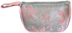 Rucci Cosmetic Bag, Small, Silver Mesh