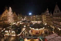Christmas Market in Frankfurt, Germany Thanks @Jessica Michelle for sharing I was looking for a Christmas Market picture. I also want to go to Christmas on the Walkplatz in Wiesbaden again.