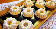 Muffin Recipes, Cake Recipes, Savarin, Hungarian Recipes, Cakes And More, Mini Cupcakes, Deserts, Food And Drink, Cooking Recipes