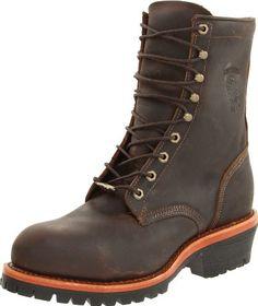 673592377228 Best Seller Chippewa Men s 8 Steel Toe EH 20091 Logger Boot online